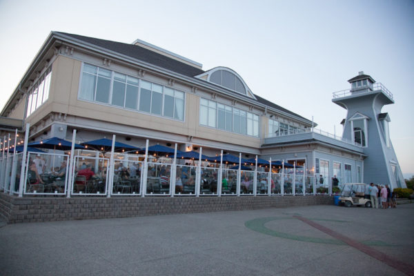 A outside view of Bronte Boathouse